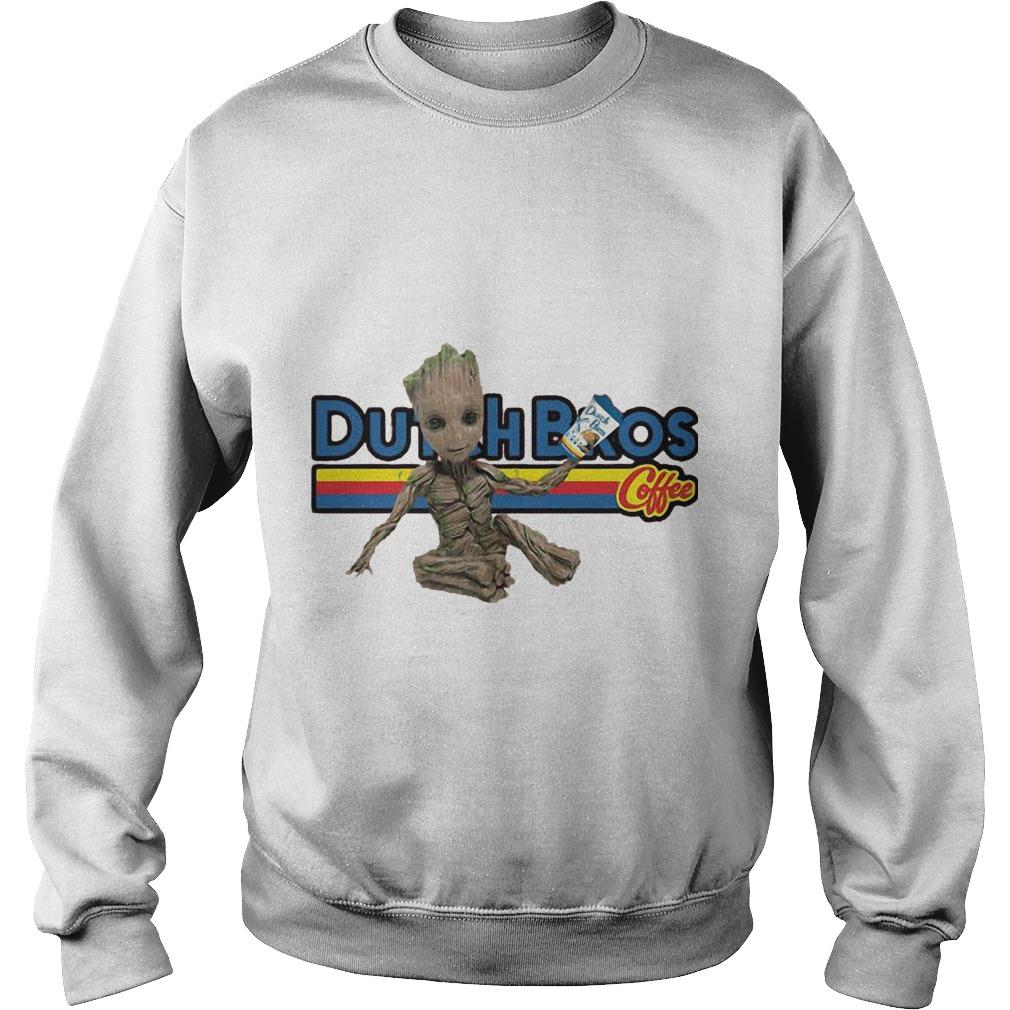 Baby Groot Dutch Bros Coffee Sweater