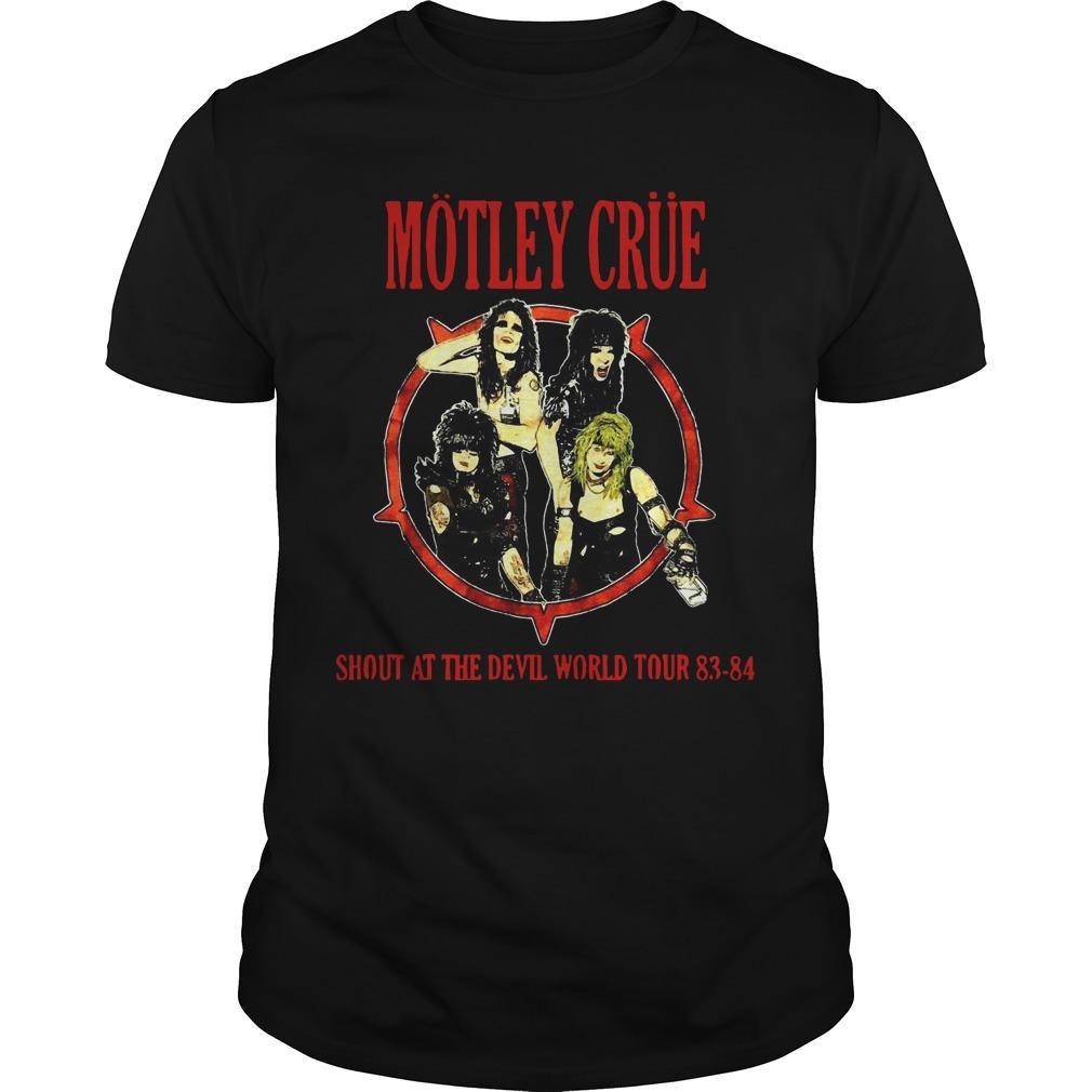 Dwayne Johnson Motley Crue Shirt