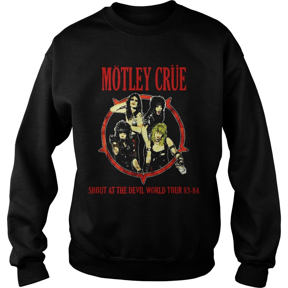 Dwayne Johnson Motley Crue Sweater