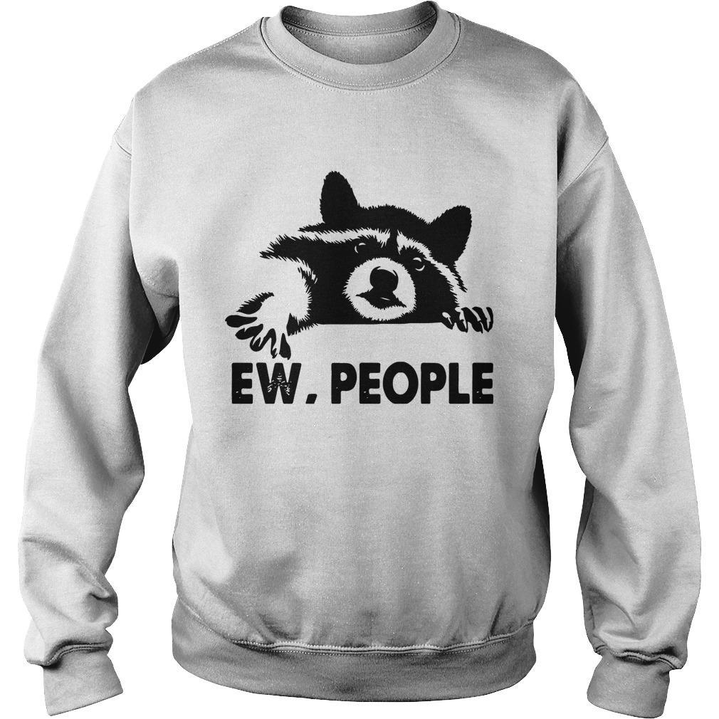 Raccoon Ew People Sweater