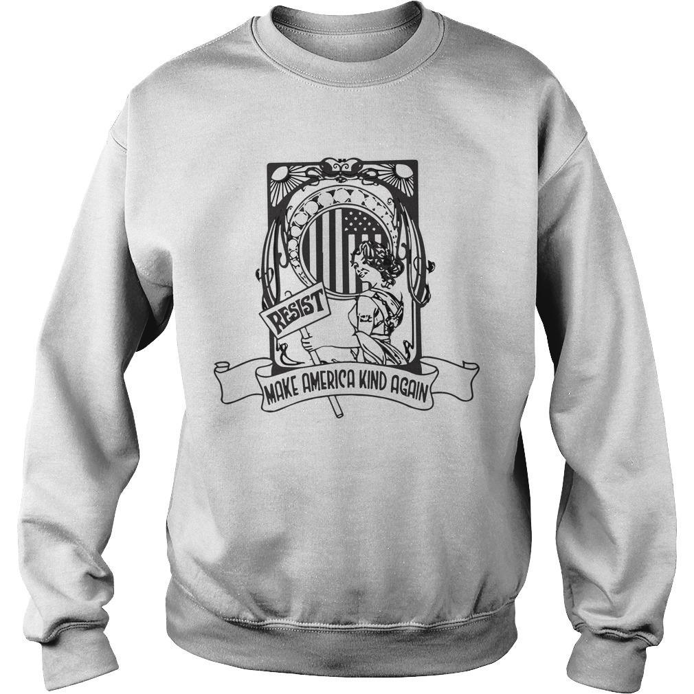 Resist Make America Kind Again Sweater