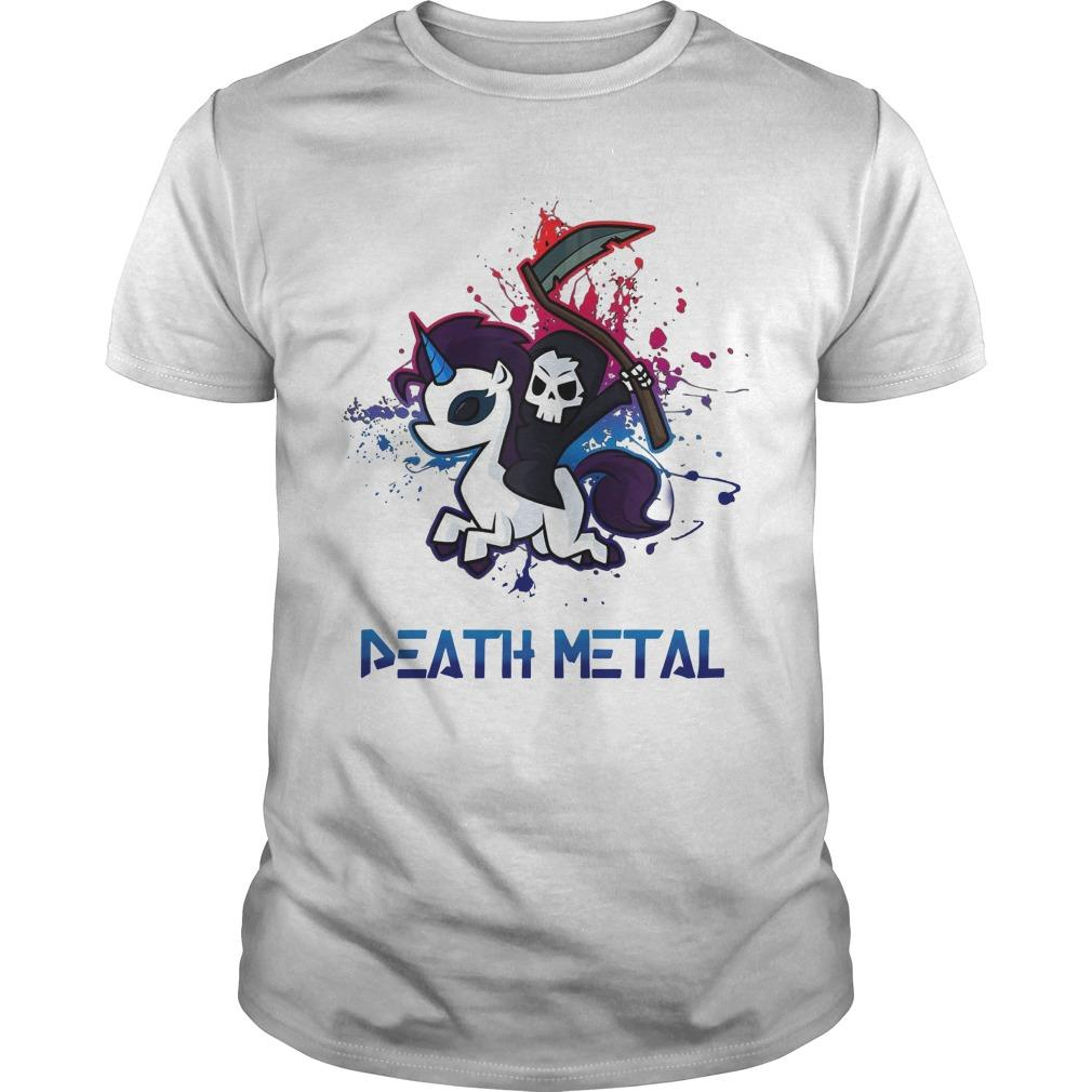 Unicorn Death Metal Shirt