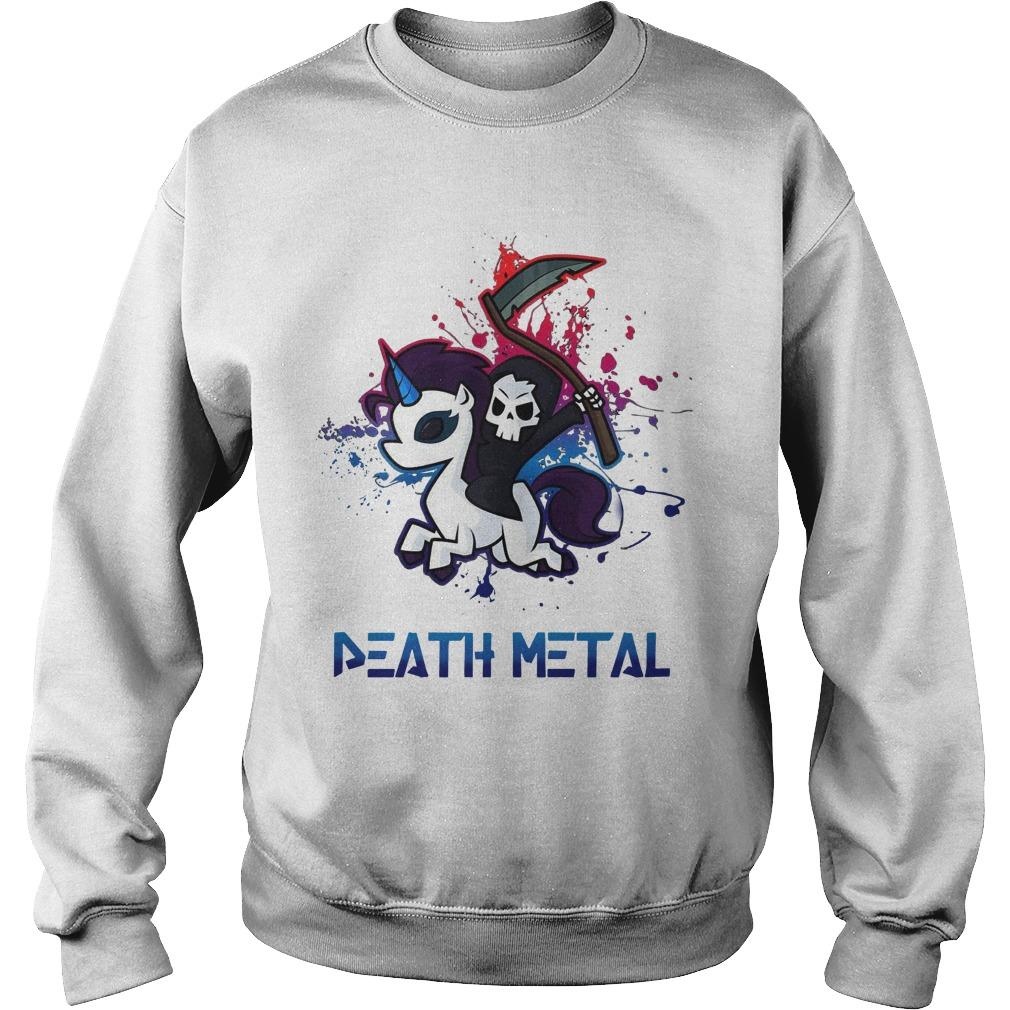 Unicorn Death Metal Sweater