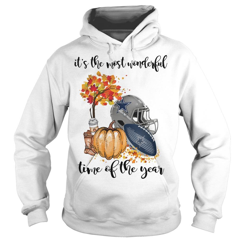 Dallas Cowboys It's The Most Wonderful Time Of The Year Hoodie