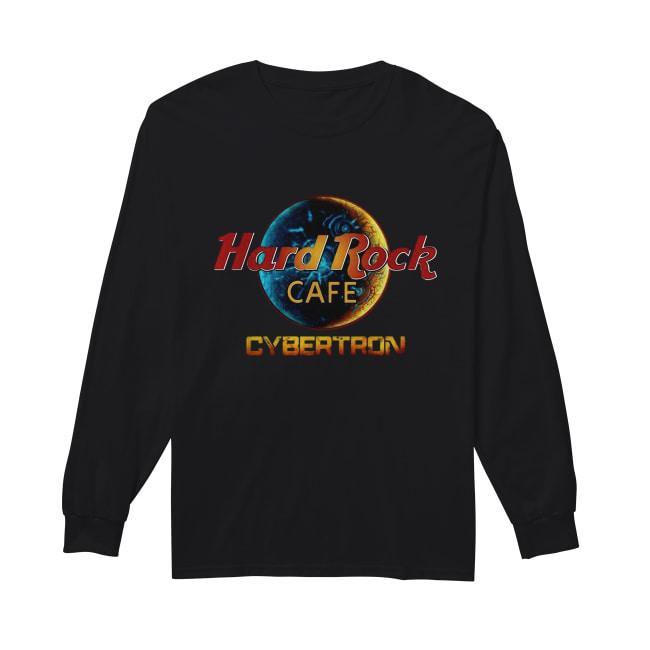 Hard Rock Cafe Cybertron Transformer Longsleeve