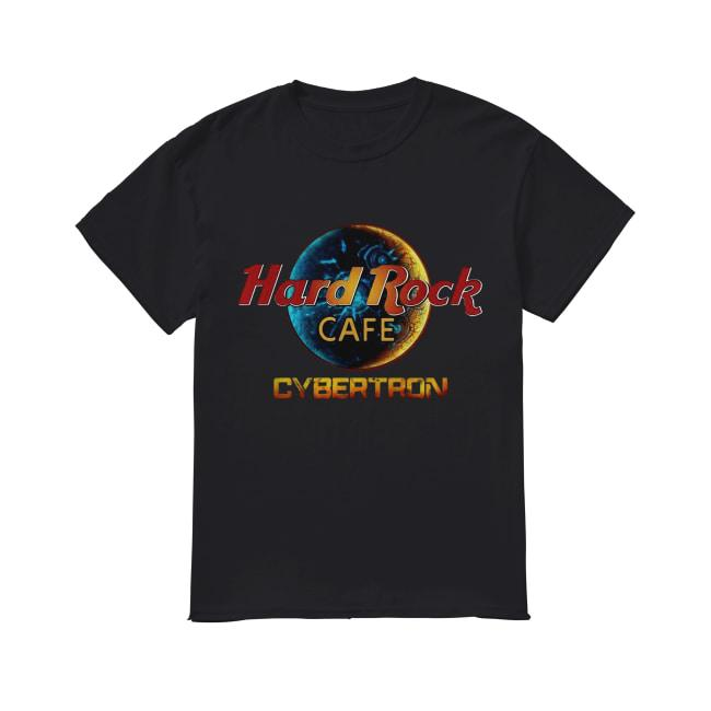 Hard Rock Cafe Cybertron Transformer Shirt