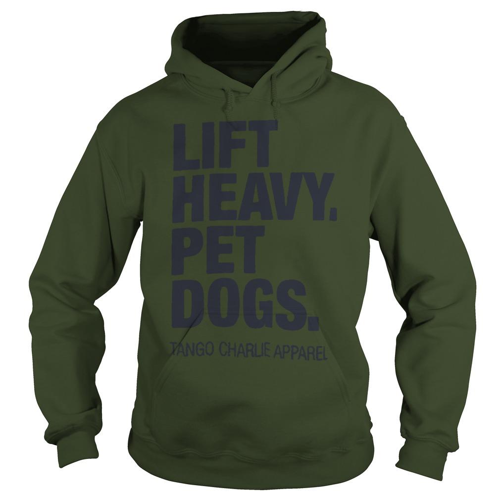 Jamie Little Lift Heavy Pet Dogs Hoodie