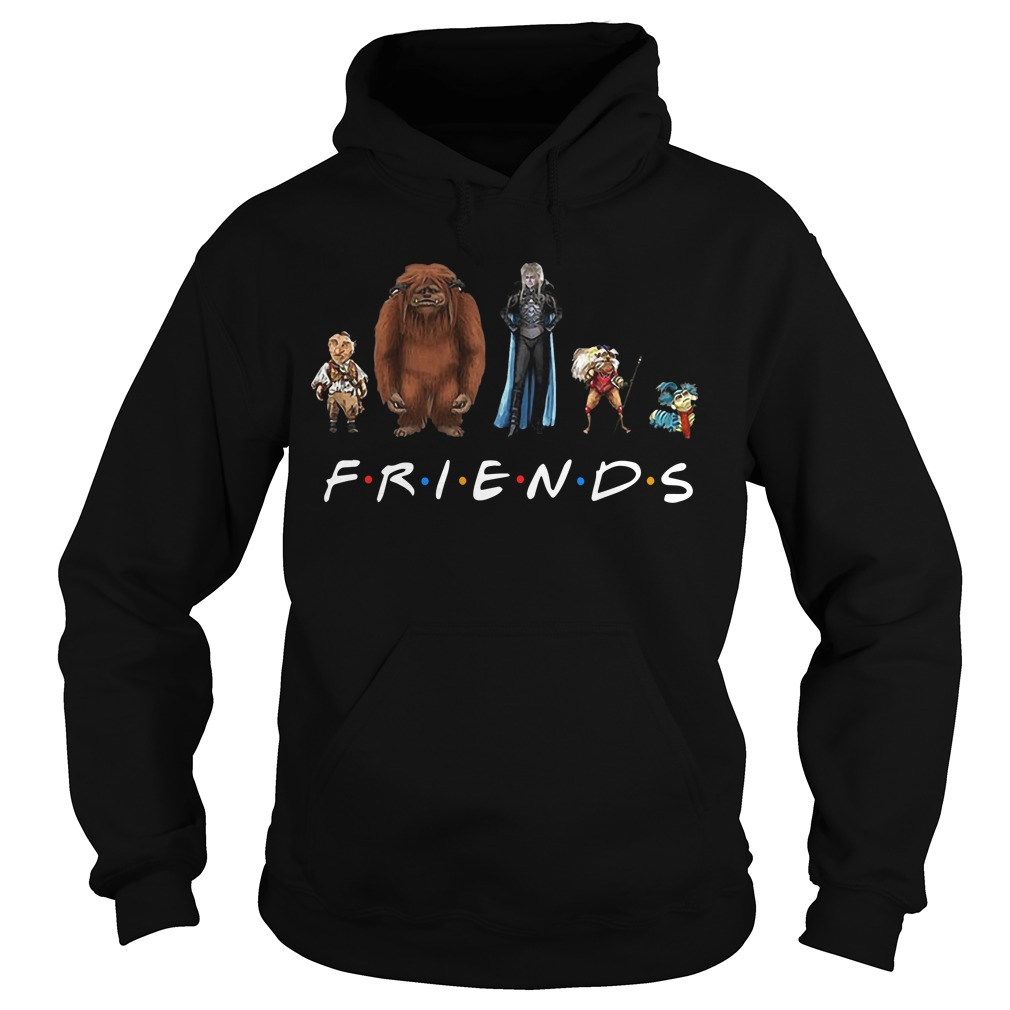 Labyrinth Characters Friends Tv Show Hoodie