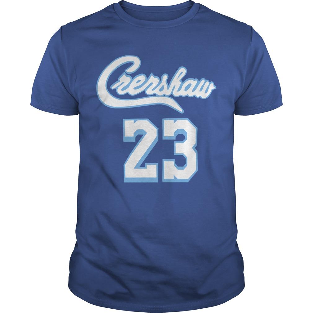 Lebron James Crenshaw Shirt