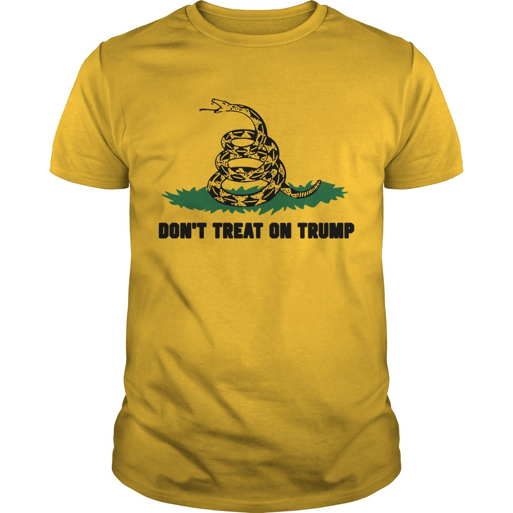 Mark Dice Don't Tread On Trump Shirt