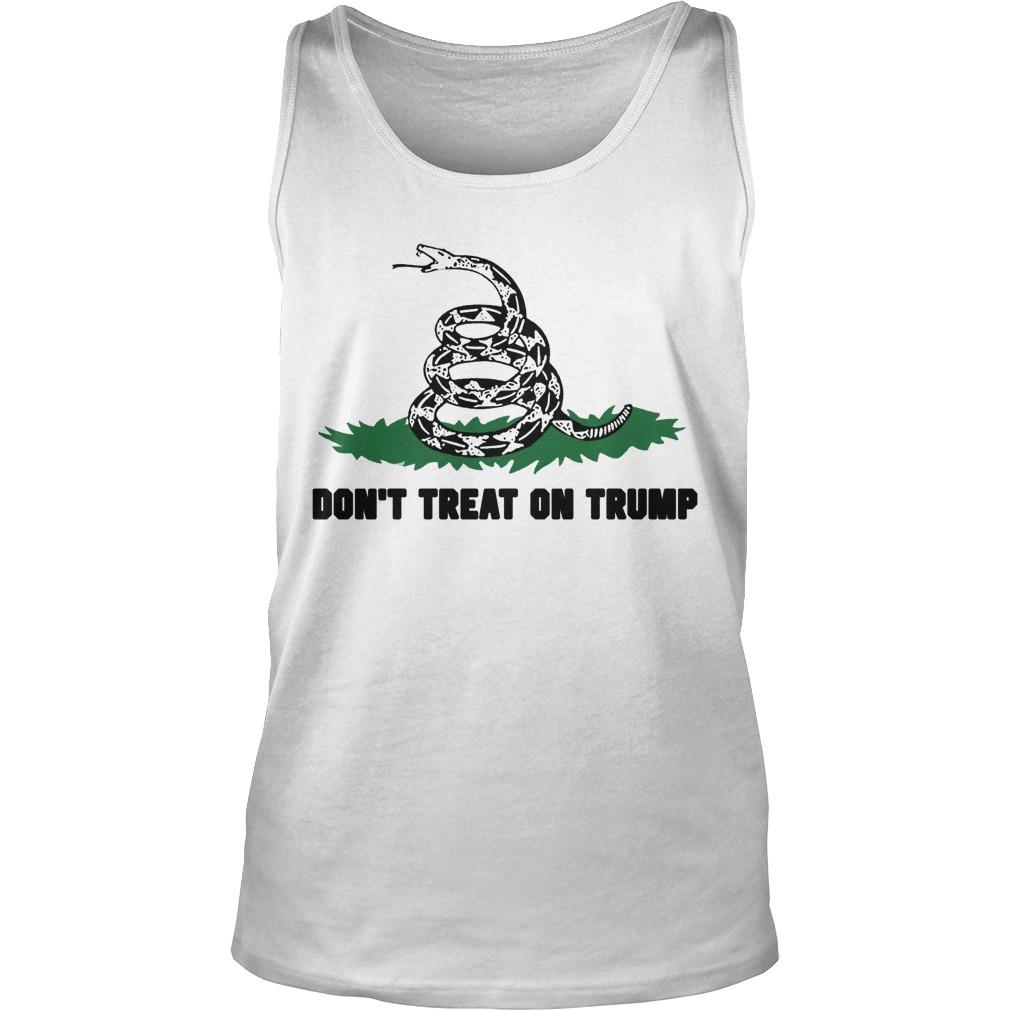 Mark Dice Don't Tread On Trump Tank Top