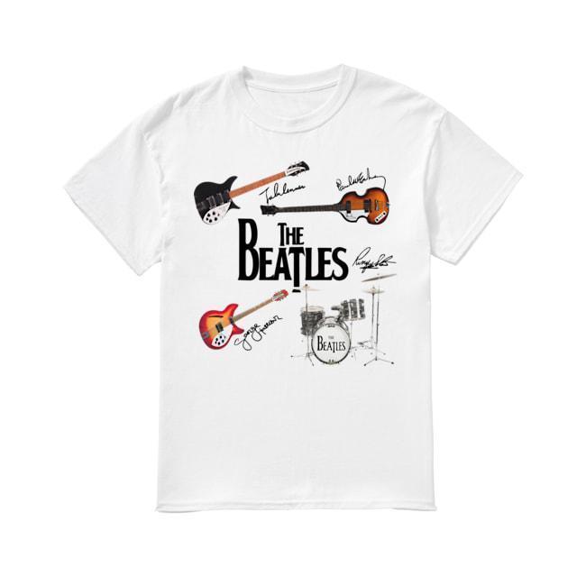 Guitars Instrument The Beatles Signatures Shirt