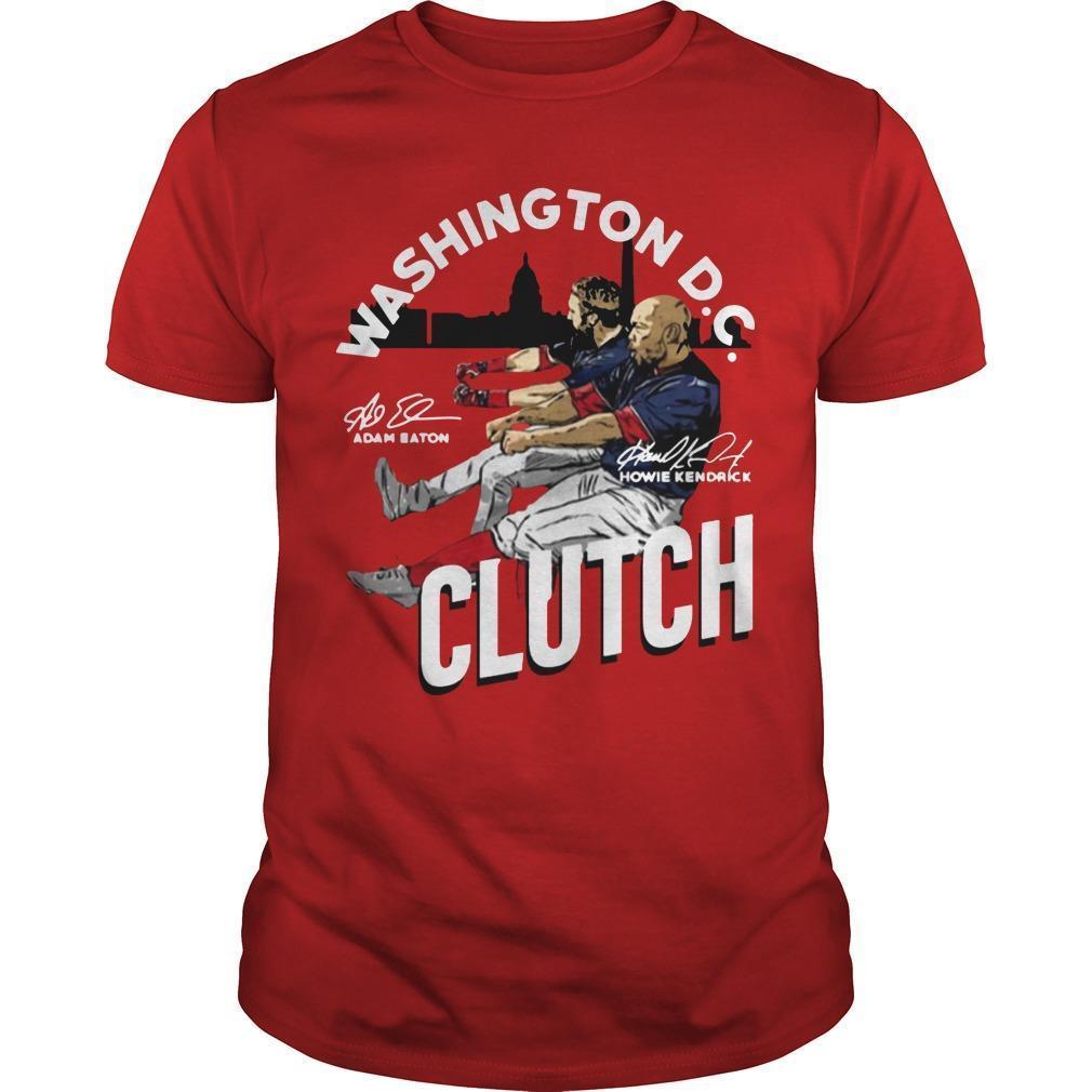 Adam Eaton Howie Kendrick Washington Dc Clutch Shirt