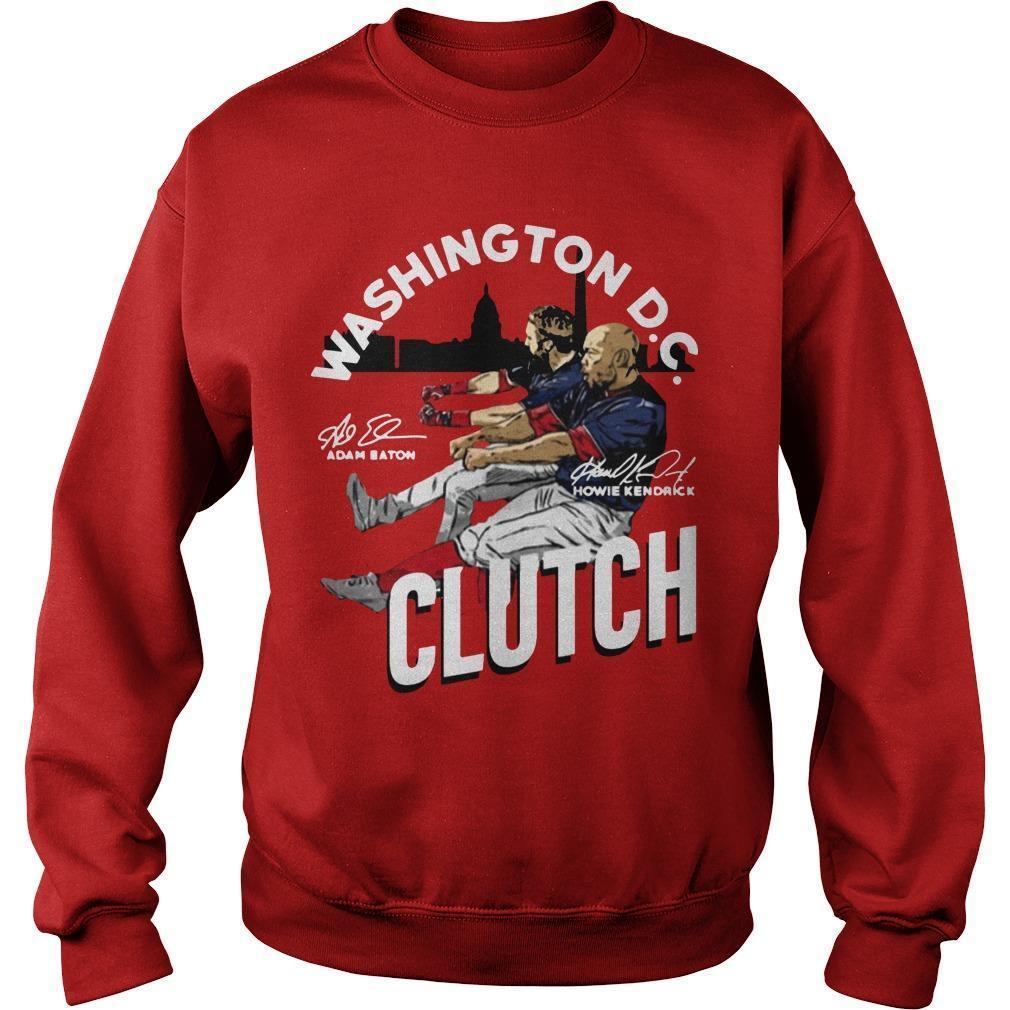 Adam Eaton Howie Kendrick Washington Dc Clutch Sweater