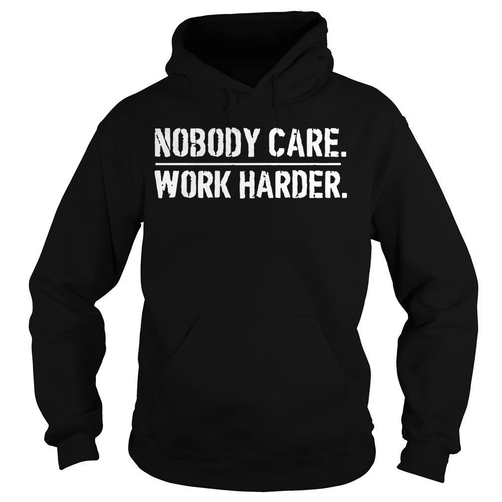 Lamar Jackson Houston Nobody Cares Work Harder T Hoodie