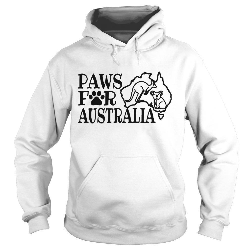 Paws For Australia Hoodie