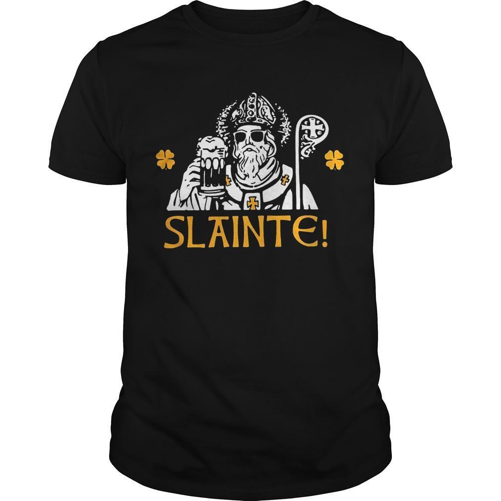St Patrick's Day Slainte Shirt