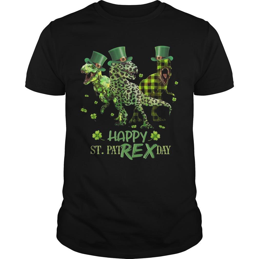 Dinosaur Happy St PatREX Shirt