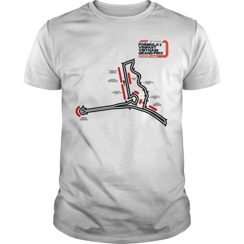 F1 Vinfast Vietnam Grand Prix 2020 Shirt