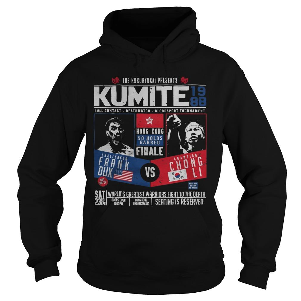 The Kokuryukai Presents Kumite 1988 Hoodie