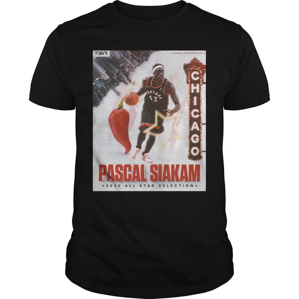 Too Spicy Nba Pascal Siakam All Star Selection Shirt