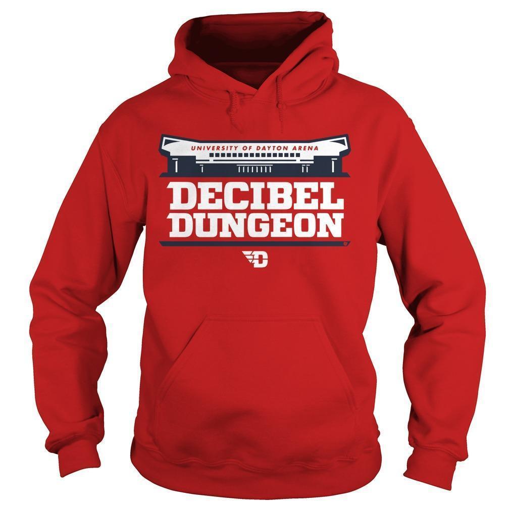 University Of Dayton Arena Decibel Dungeon Hoodie