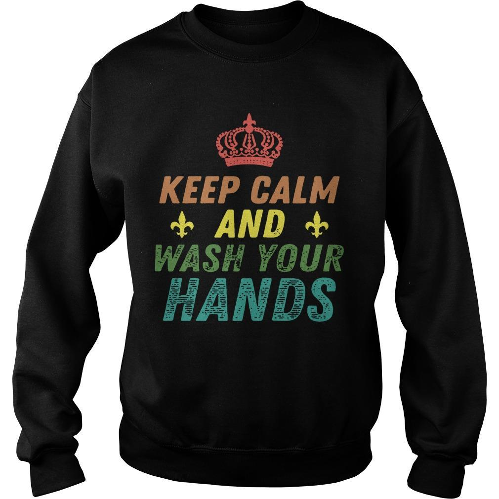 Keep Calm And Wash Your Hands Corona Virus Sweater