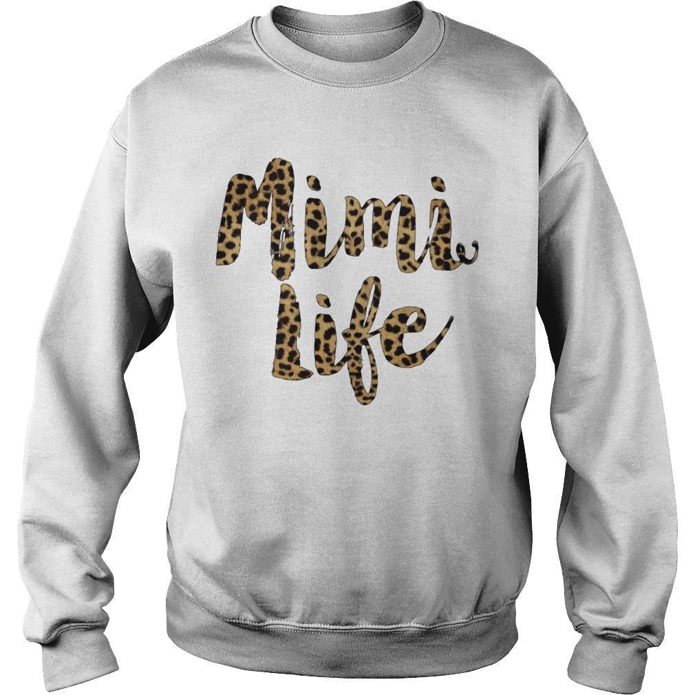 Leopard Print Mimi Life Sweater