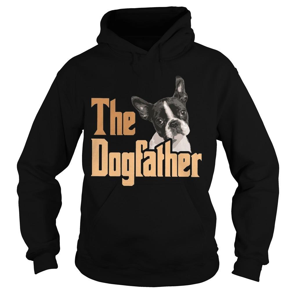 Boston Terrier The Dogfather Hoodie
