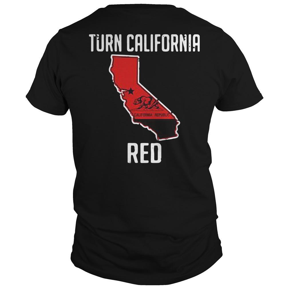 Turn California Red Shirt