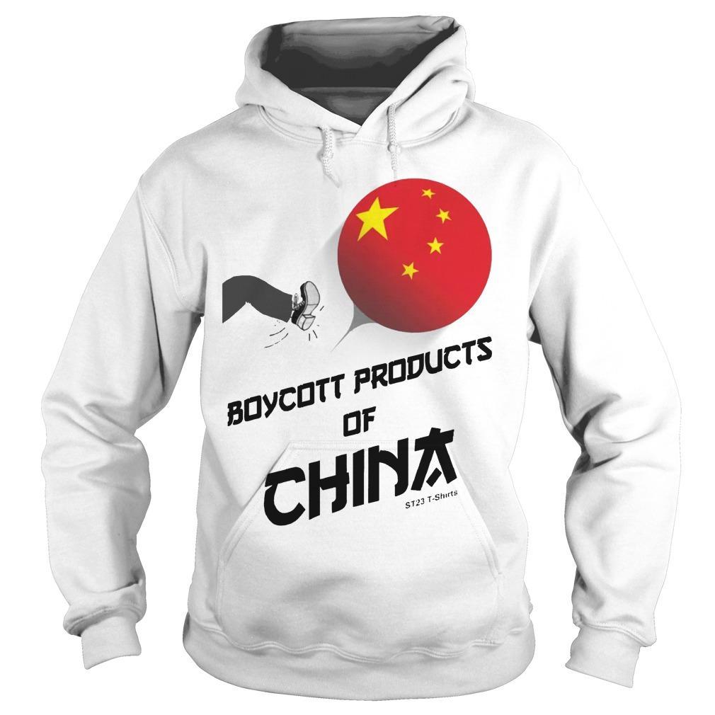China Manufacturing Boycott China T Hoodie