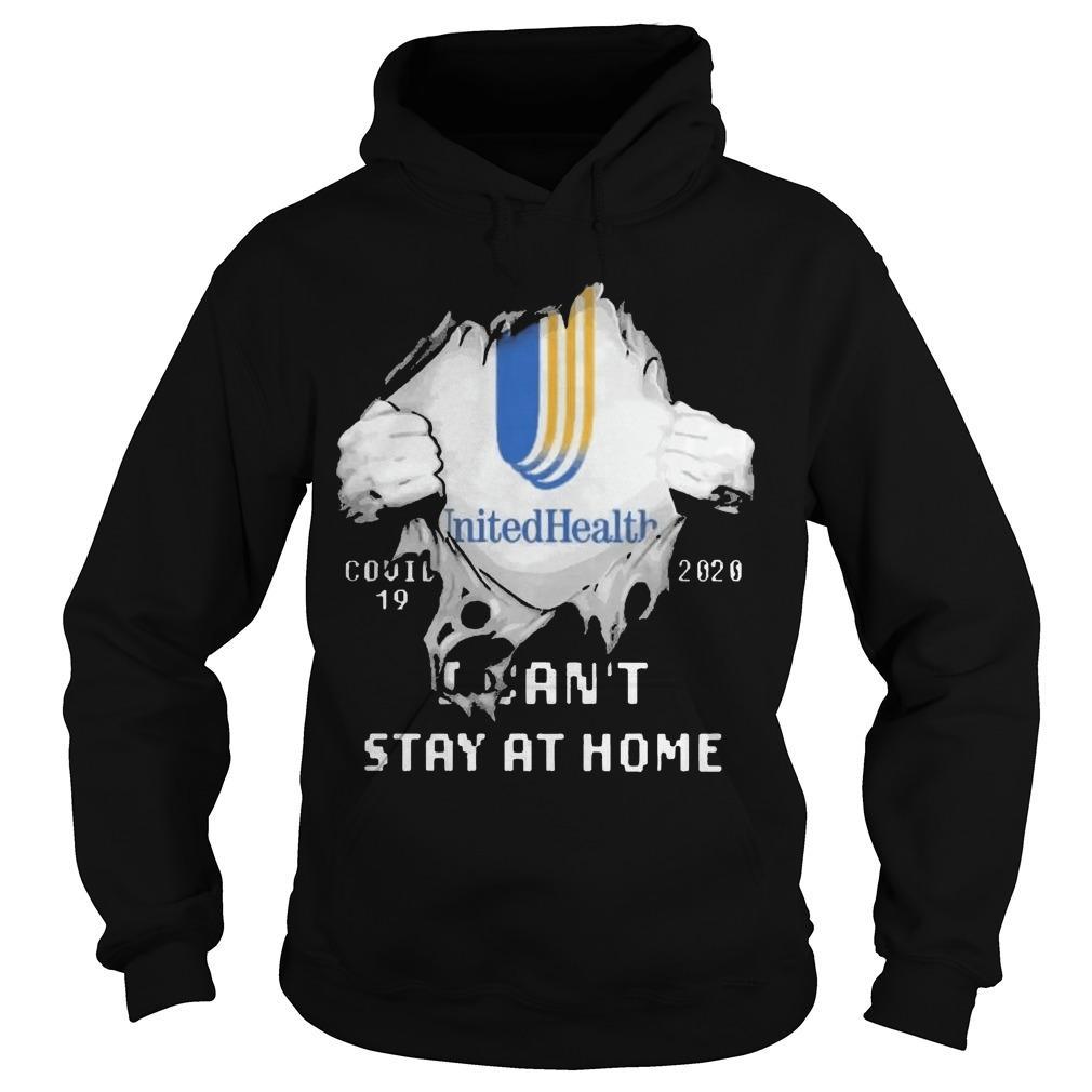 Inside Me Unitedhealth Covid 19 2020 I Can't Stay At Home Hoodie