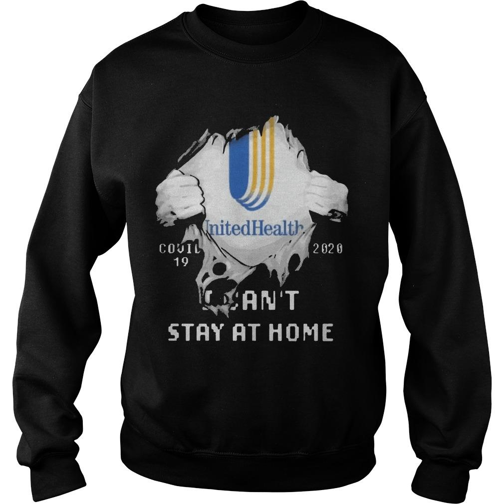 Inside Me Unitedhealth Covid 19 2020 I Can't Stay At Home Sweater