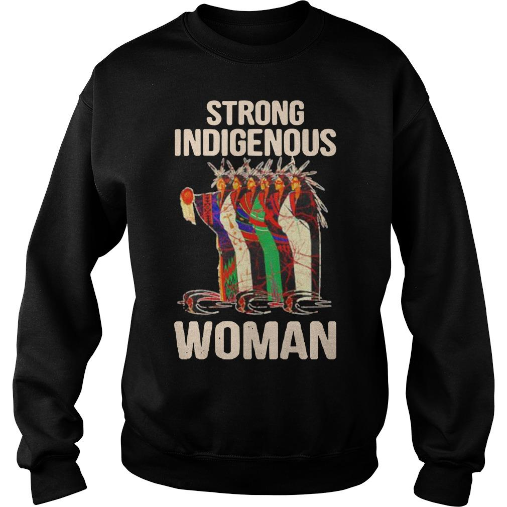 Strong Indigenous Woman Sweater