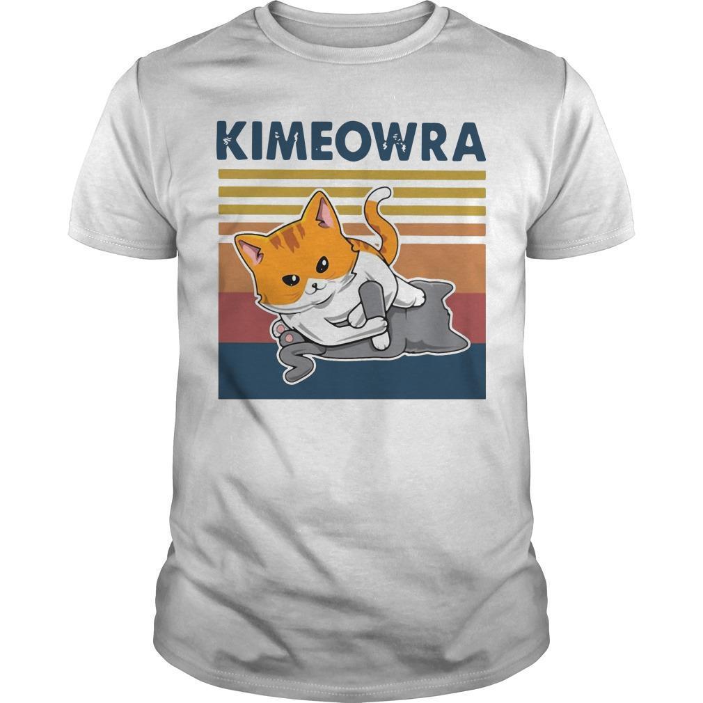 Vintage Cat Jiu Jitsu Kimeowra Shirt