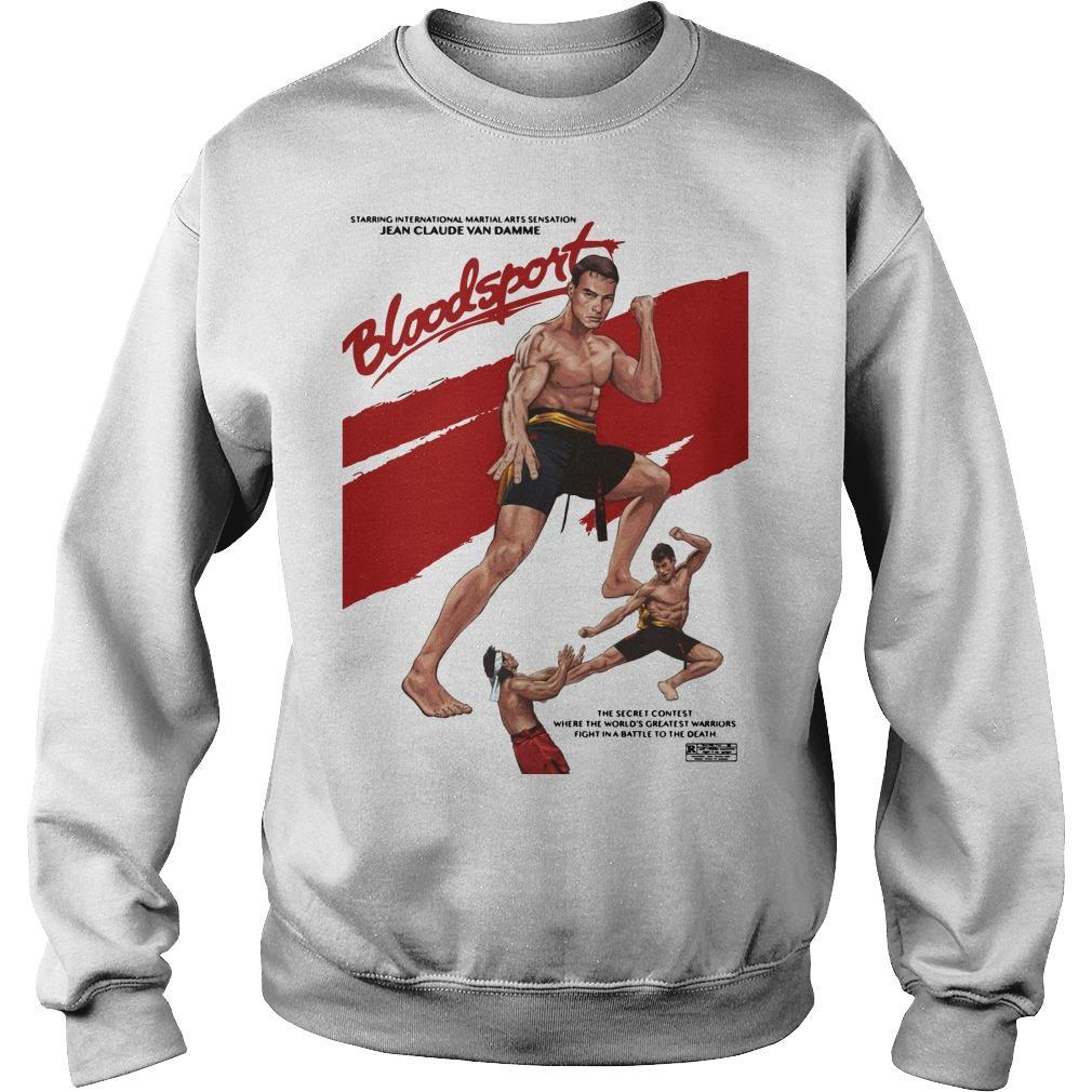 The Secret Contest Where The World Bloodsport Sweater
