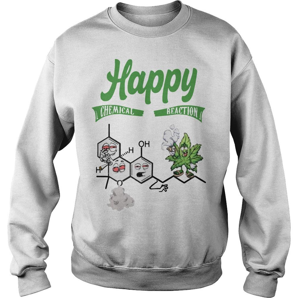 Weed Happy Chemical Reaction Sweater