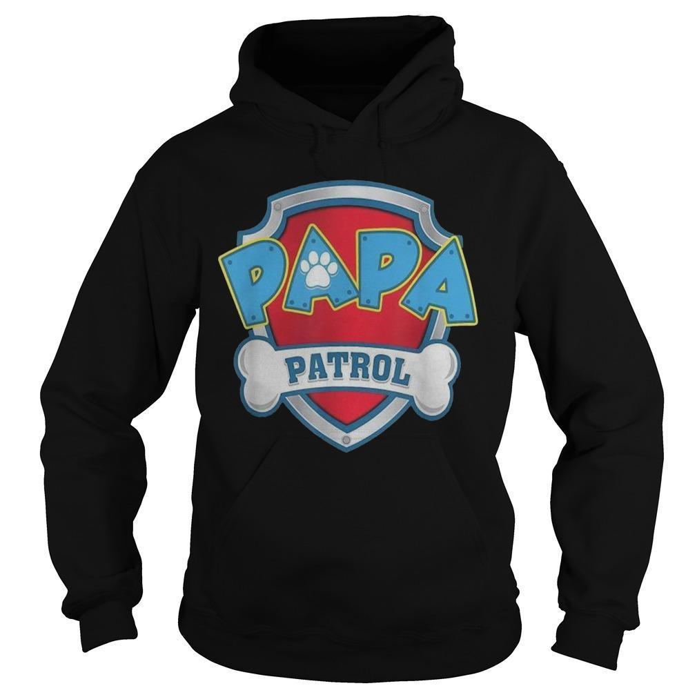 Dog Mom Papa Patrol Hoodie