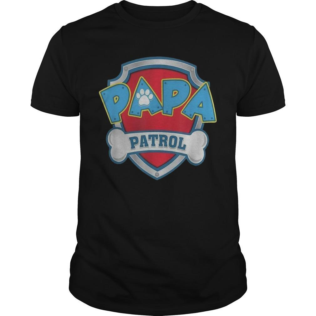 Dog Mom Papa Patrol Shirt