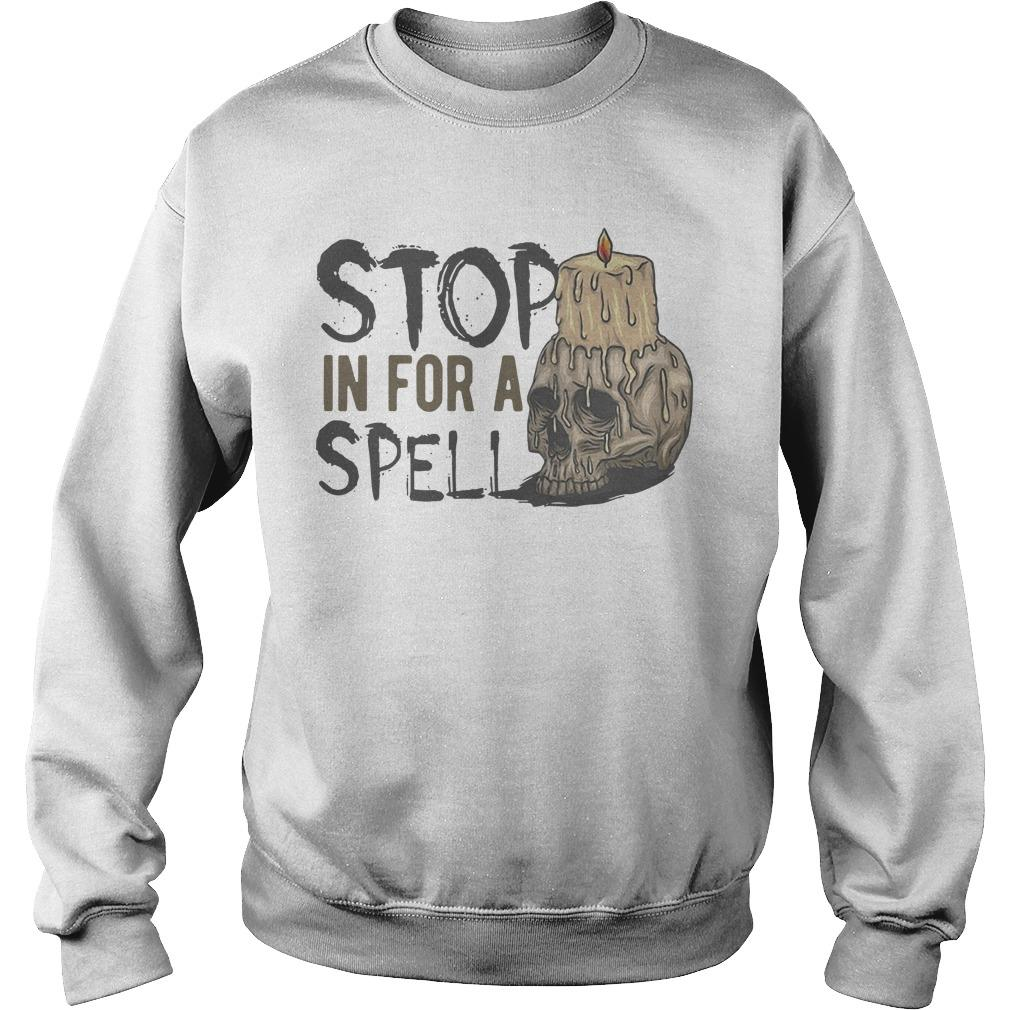 Halloween Stop In For A Spell Sweater