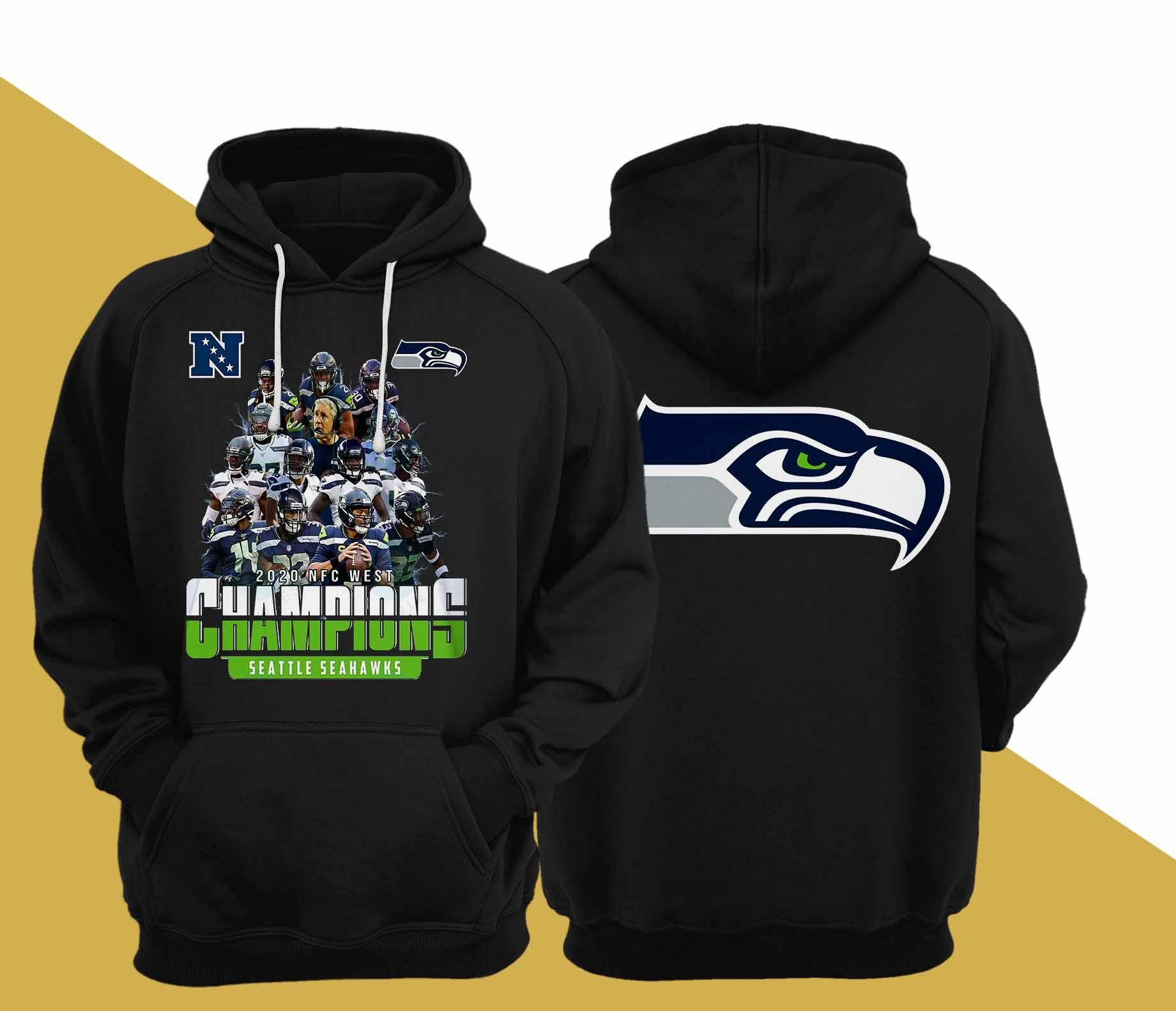 2020 Nfc West Champions Seattle Seahawks Hoodie