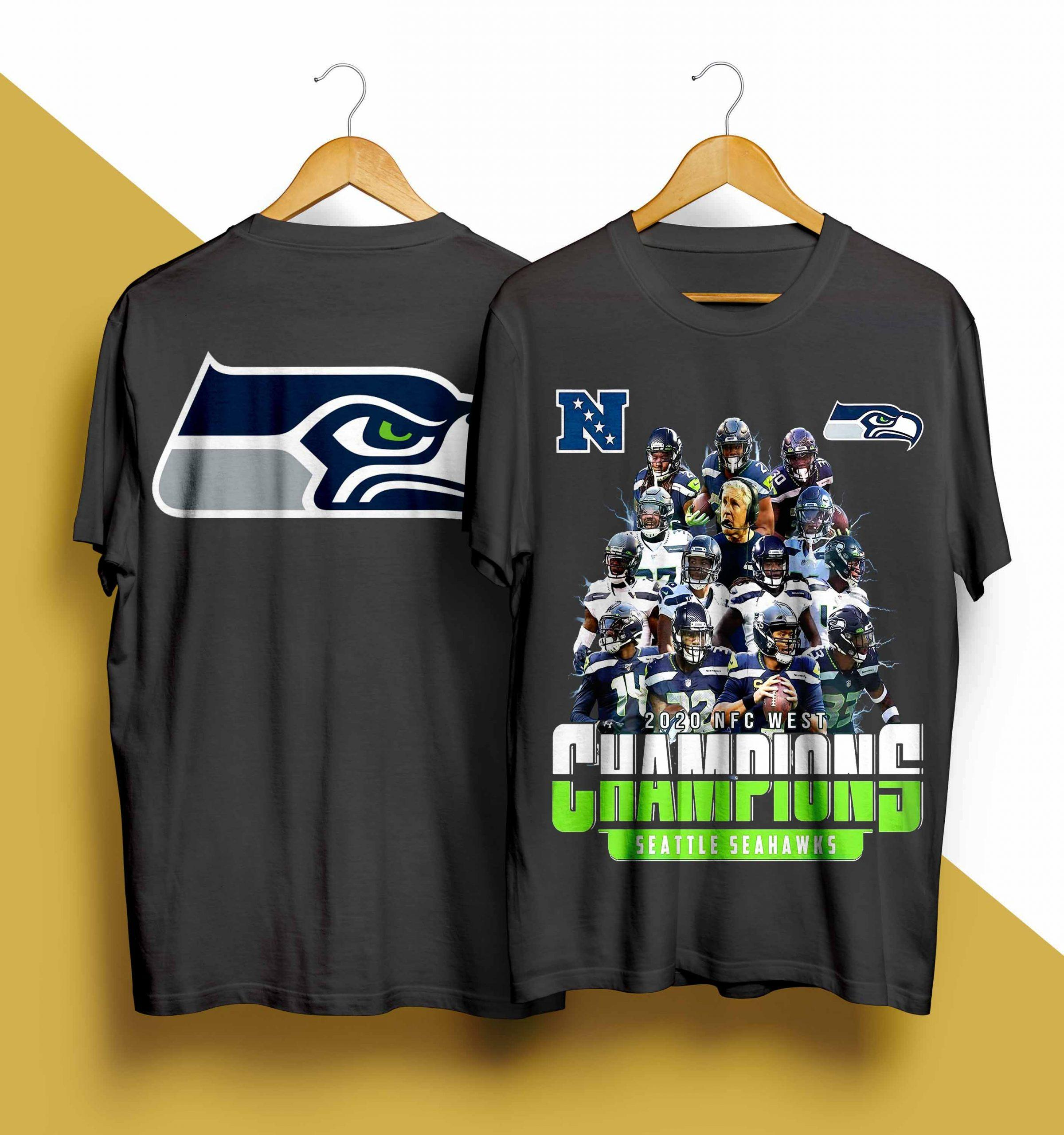 2020 Nfc West Champions Seattle Seahawks Shirt