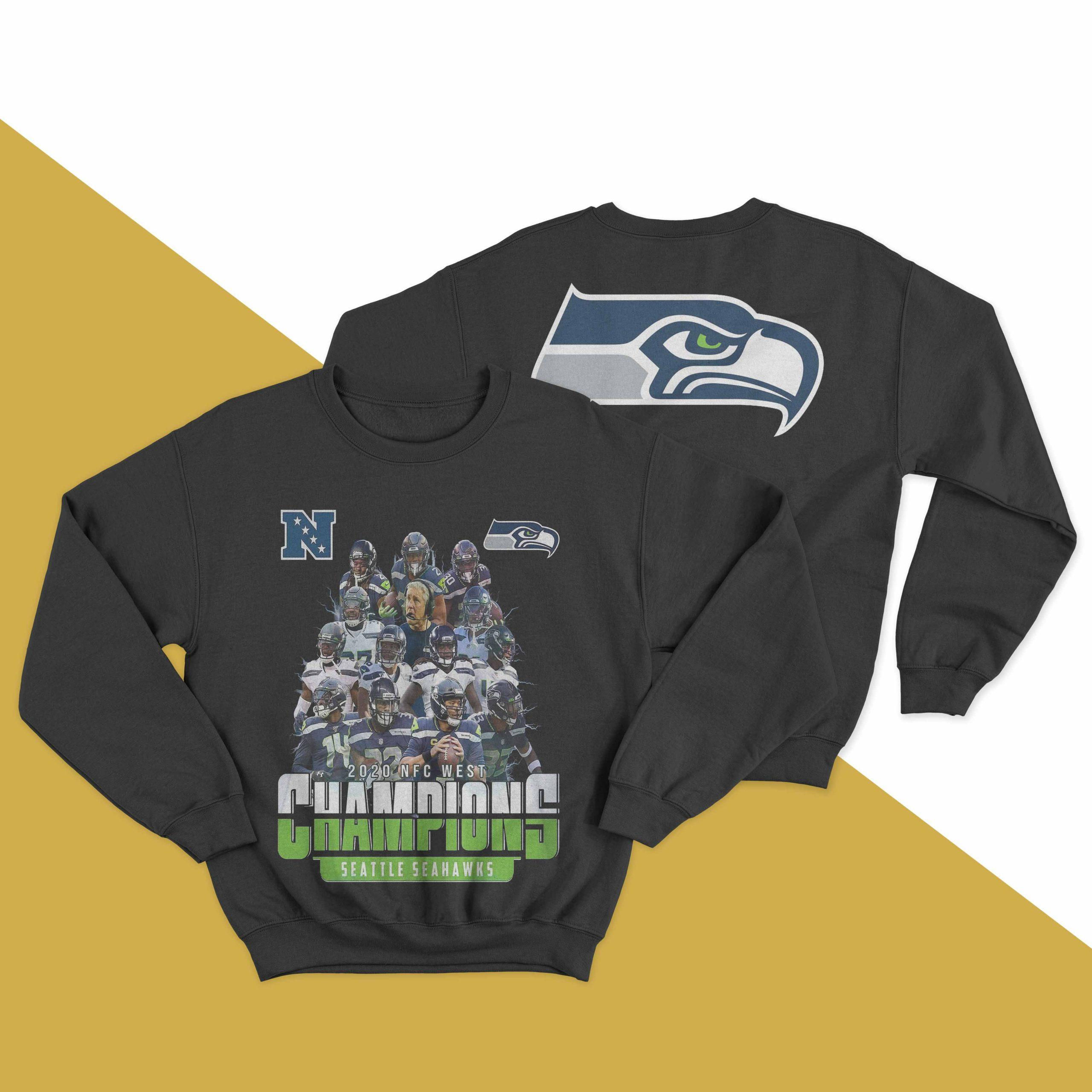 2020 Nfc West Champions Seattle Seahawks Sweater
