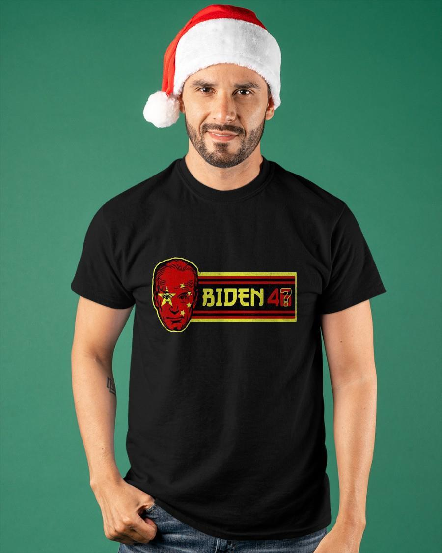 China Flag Biden 46 Shirt