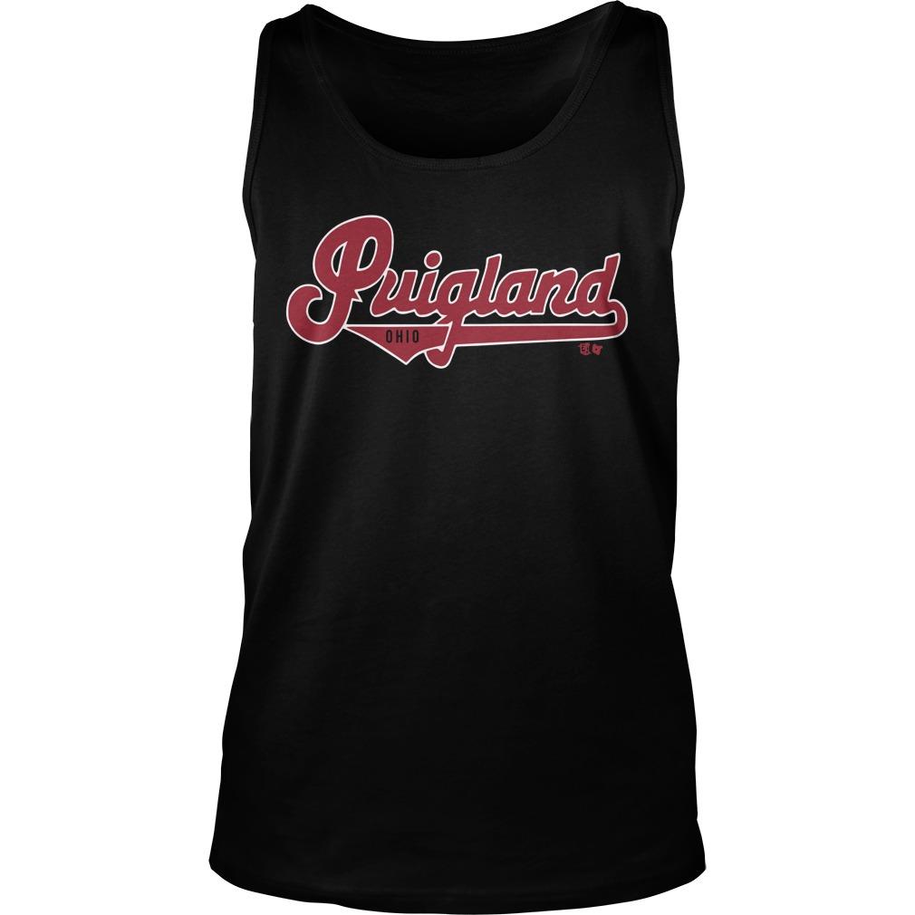 Cleveland Indians Puigland Ohio Tank Top