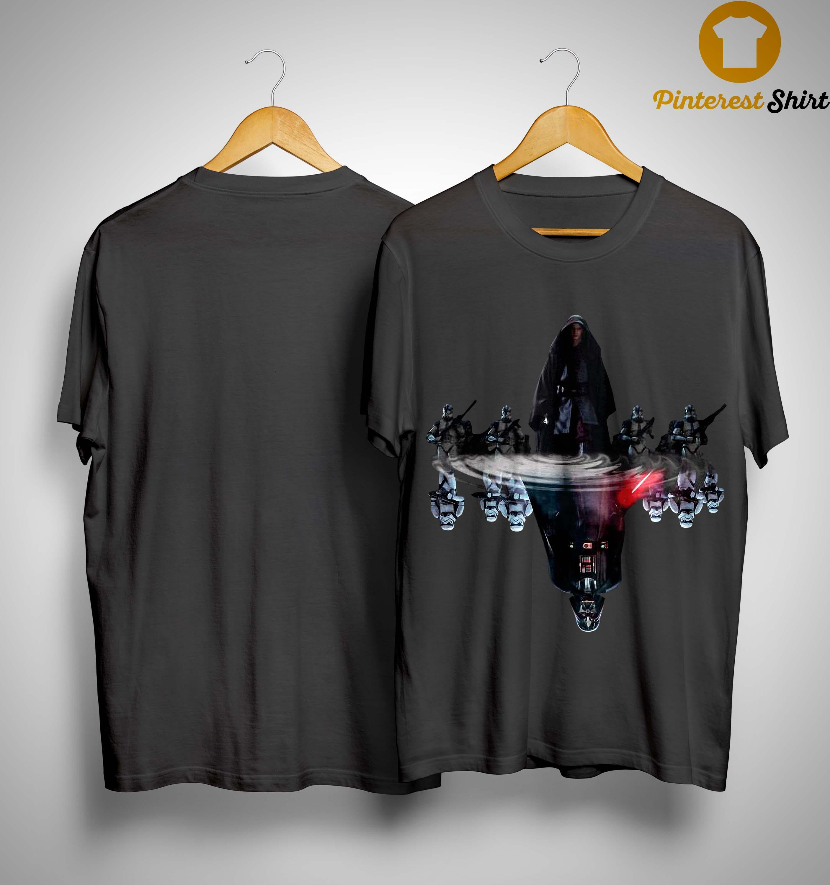 Anakin Skywalker Darth Vader Water Reflection Shirt