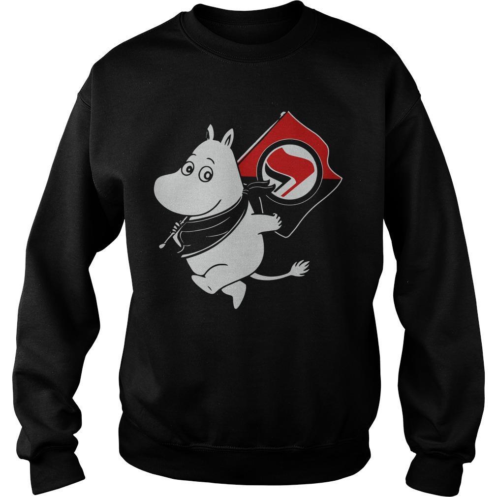 Fender Antifa Moomin Anti Fascist Sweater