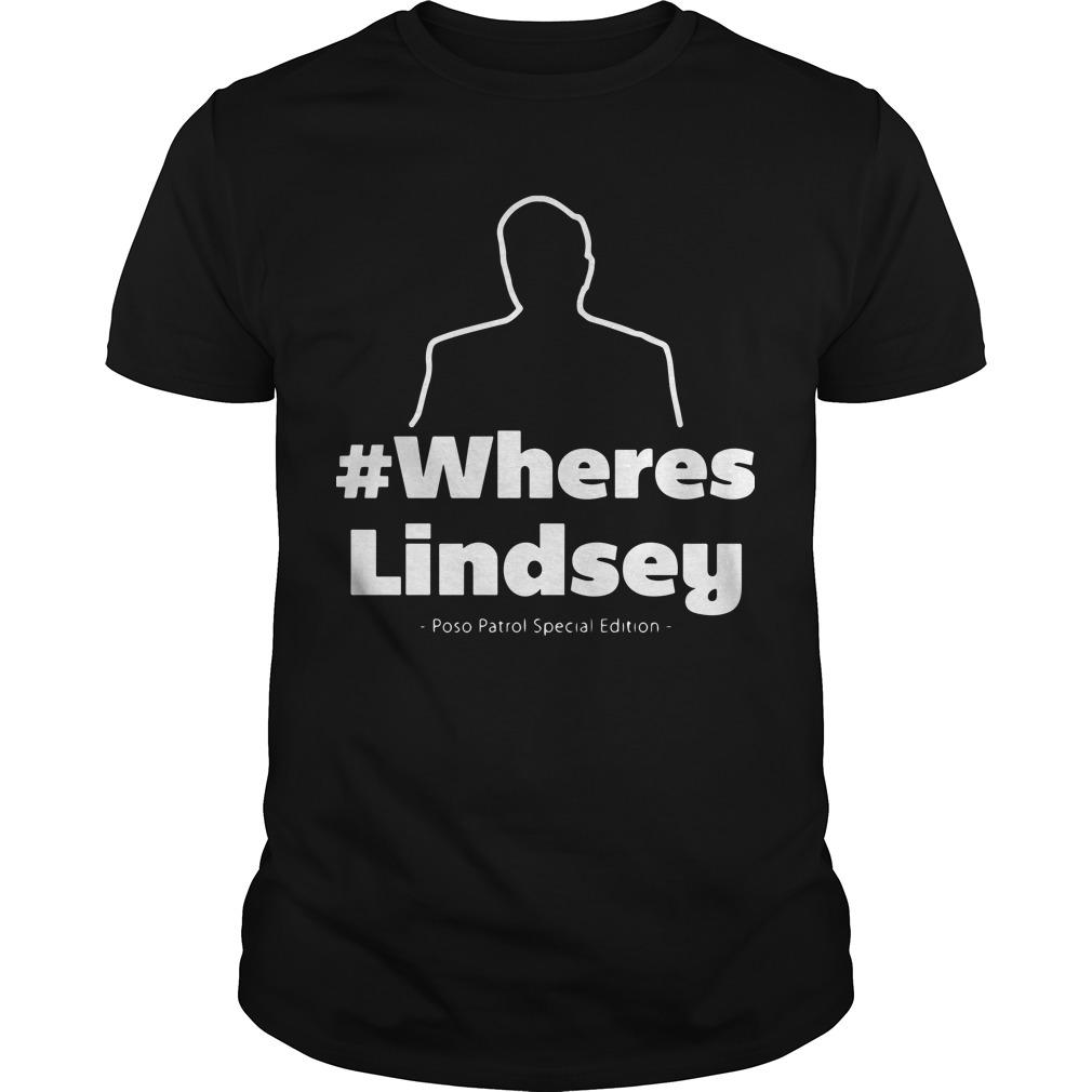 #WheresLindsey Poso Patrol Special Edition Hoodie