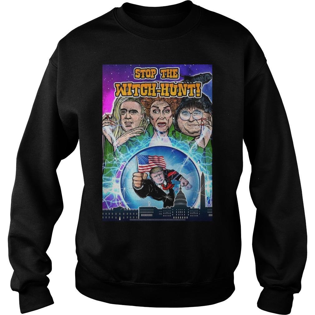 Hocus Pocus Trump Witch Hunt Sweater