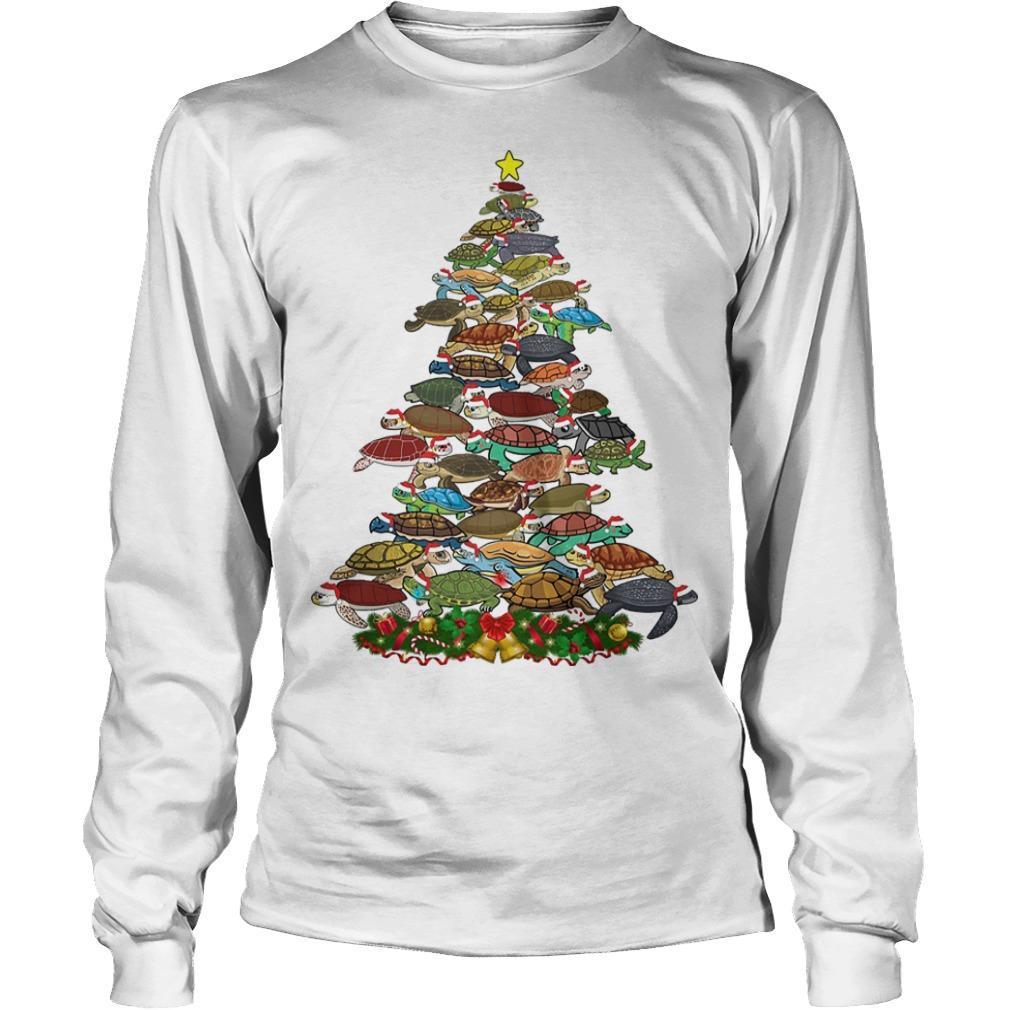 Turtle Christmas Tree Longsleeve